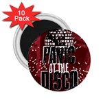 Panic At The Disco Poster 2.25  Magnets (10 pack)  Front