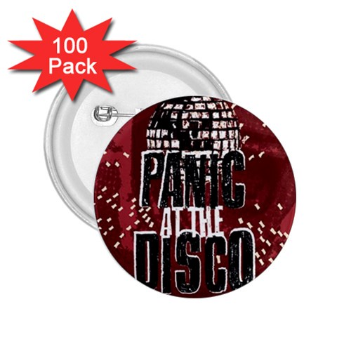 Panic At The Disco Poster 2.25  Buttons (100 pack)