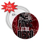 Panic At The Disco Poster 2.25  Buttons (100 pack)  Front
