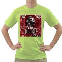 Panic At The Disco Poster Green T Shirt