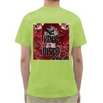 Panic At The Disco Poster Green T-Shirt Back