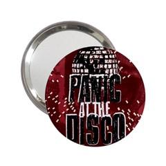 Panic At The Disco Poster 2 25  Handbag Mirrors