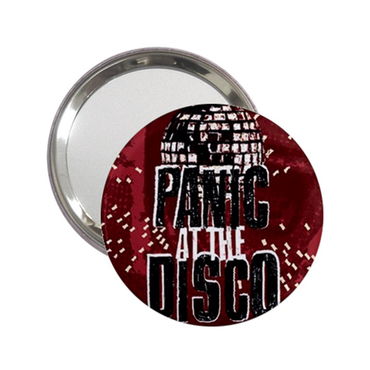 Panic At The Disco Poster 2.25  Handbag Mirrors