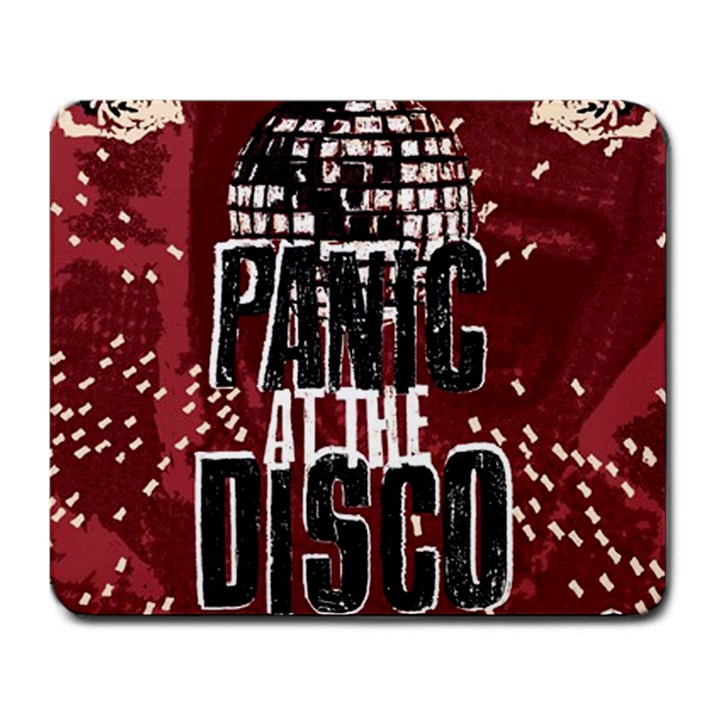 Panic At The Disco Poster Large Mousepads