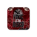 Panic At The Disco Poster Rubber Square Coaster (4 pack)  Front