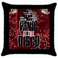 Panic At The Disco Poster Throw Pillow Case (Black)