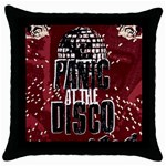 Panic At The Disco Poster Throw Pillow Case (Black) Front