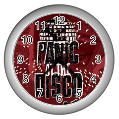Panic At The Disco Poster Wall Clocks (Silver)