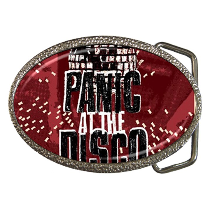 Panic At The Disco Poster Belt Buckles