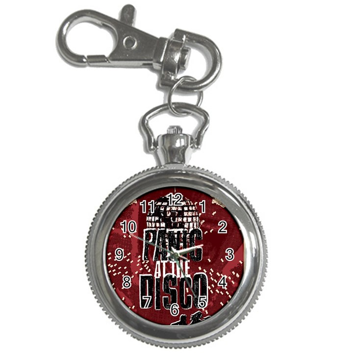 Panic At The Disco Poster Key Chain Watches