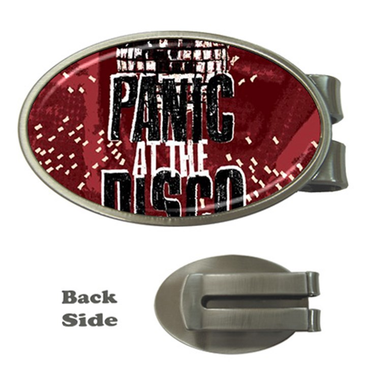 Panic At The Disco Poster Money Clips (Oval)