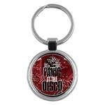 Panic At The Disco Poster Key Chains (Round)  Front