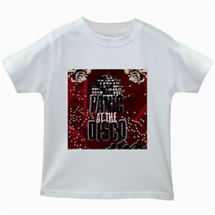 Panic At The Disco Poster Kids White T Shirts