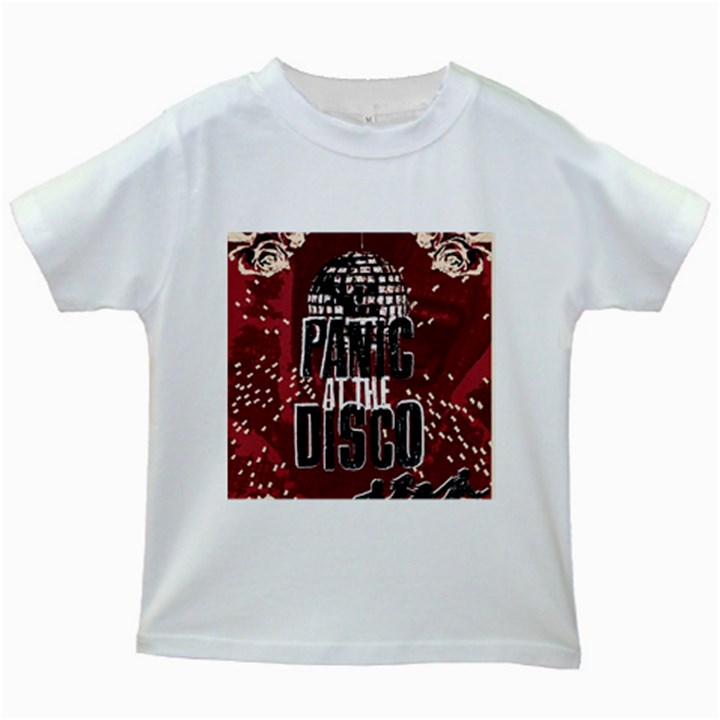 Panic At The Disco Poster Kids White T-Shirts