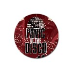 Panic At The Disco Poster Magnet 3  (Round) Front