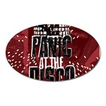 Panic At The Disco Poster Oval Magnet Front