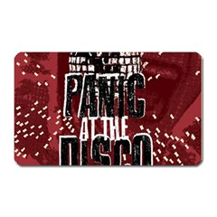 Panic At The Disco Poster Magnet (rectangular)