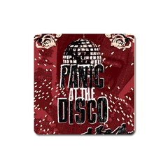 Panic At The Disco Poster Square Magnet