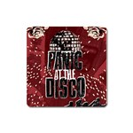 Panic At The Disco Poster Square Magnet Front