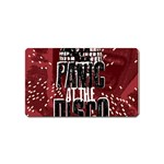 Panic At The Disco Poster Magnet (Name Card) Front