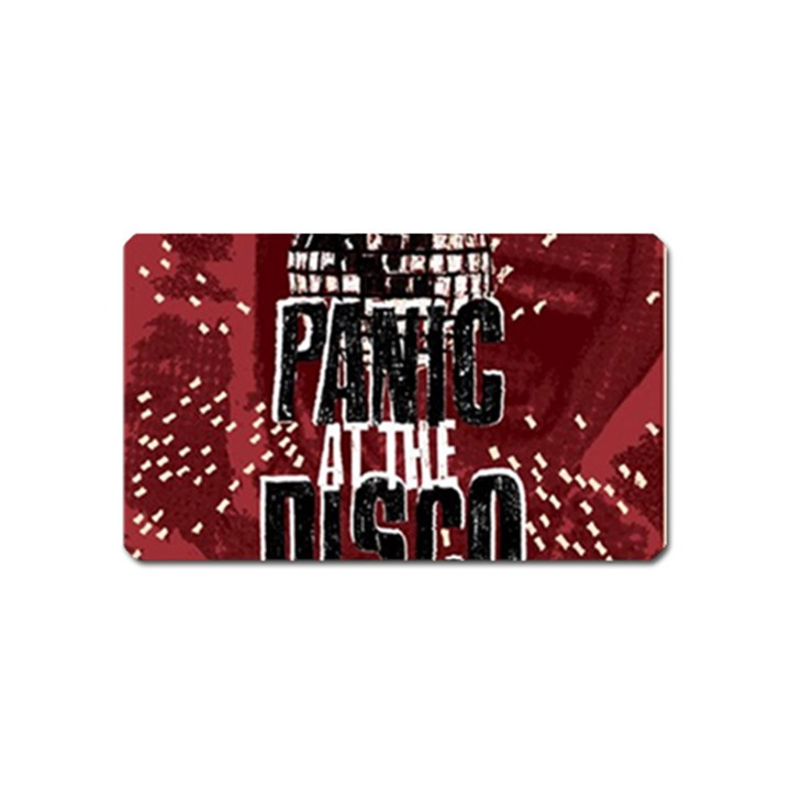Panic At The Disco Poster Magnet (Name Card)