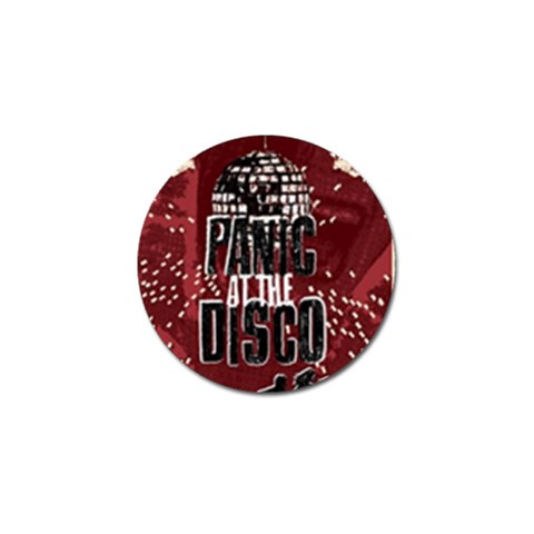 Panic At The Disco Poster Golf Ball Marker (4 pack)