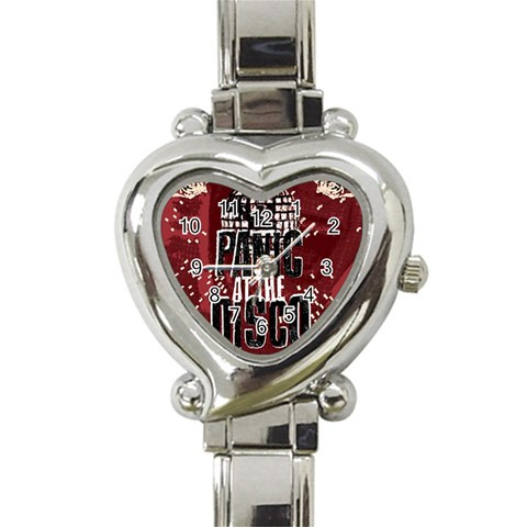 Panic At The Disco Poster Heart Italian Charm Watch
