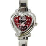 Panic At The Disco Poster Heart Italian Charm Watch Front