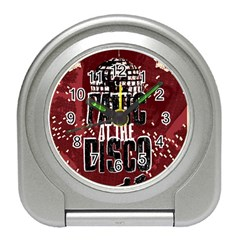 Panic At The Disco Poster Travel Alarm Clocks