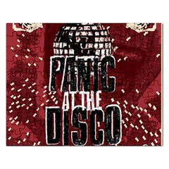 Panic At The Disco Poster Rectangular Jigsaw Puzzl
