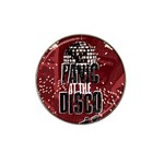 Panic At The Disco Poster Hat Clip Ball Marker Front