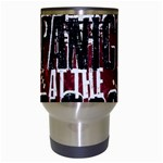 Panic At The Disco Poster Travel Mugs (White) Center