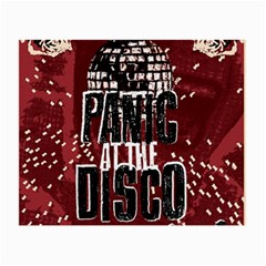 Panic At The Disco Poster Small Glasses Cloth
