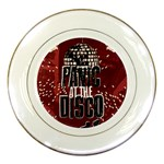 Panic At The Disco Poster Porcelain Plates Front