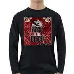 Panic At The Disco Poster Long Sleeve Dark T-Shirts Front