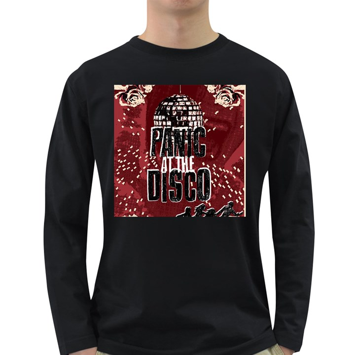 Panic At The Disco Poster Long Sleeve Dark T-Shirts