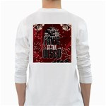 Panic At The Disco Poster White Long Sleeve T-Shirts Back