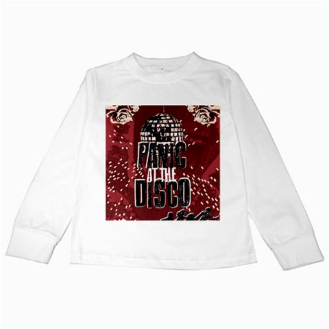 Panic At The Disco Poster Kids Long Sleeve T-Shirts