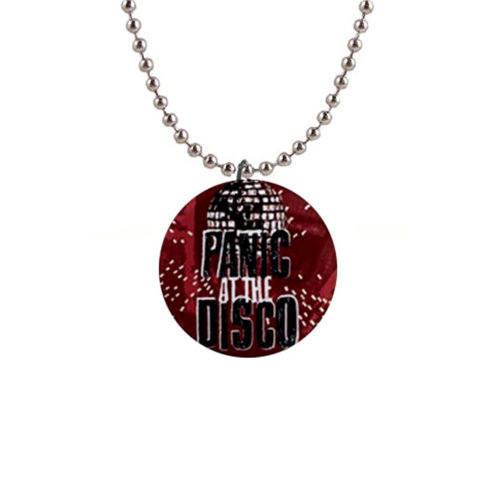 Panic At The Disco Poster Button Necklaces