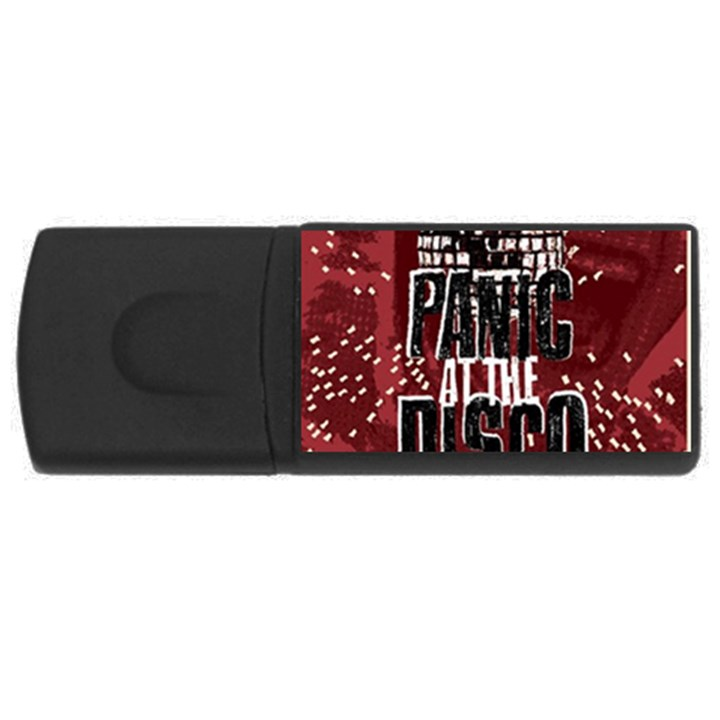 Panic At The Disco Poster USB Flash Drive Rectangular (4 GB)