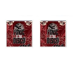 Panic At The Disco Poster Cufflinks (square)