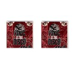 Panic At The Disco Poster Cufflinks (Square) Front