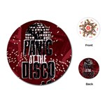 Panic At The Disco Poster Playing Cards (Round)  Front
