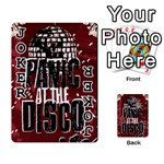 Panic At The Disco Poster Playing Cards 54 Designs  Front - Joker1