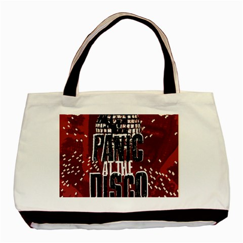 Panic At The Disco Poster Basic Tote Bag