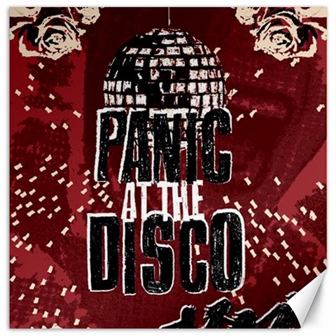 Panic At The Disco Poster Canvas 12  x 12