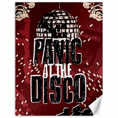 Panic At The Disco Poster Canvas 12  x 16