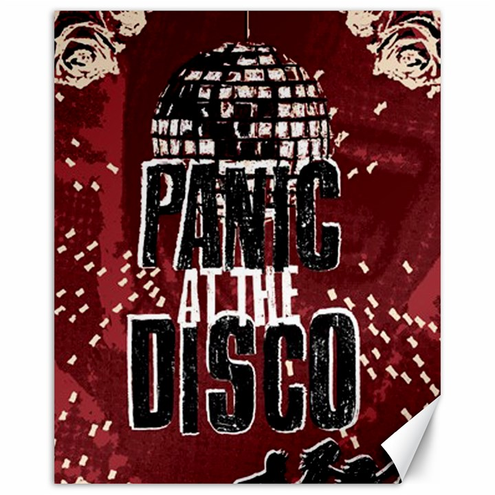 Panic At The Disco Poster Canvas 16  x 20
