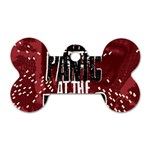 Panic At The Disco Poster Dog Tag Bone (One Side) Front