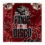 Panic At The Disco Poster Medium Glasses Cloth Front